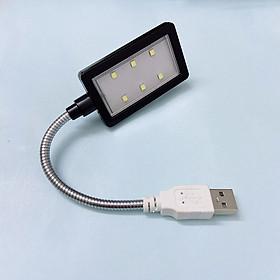 Đèn Led 6 bóng siêu sáng cắm nguồn USB thân hợp kim uốn dẻo