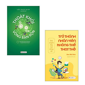 Bộ 2 cuốn sách để trở thành nhân viên xuất sắc: Trở Thành Nhân Viên Không Thể Thay Thế - Thoát Khỏi Vòng Bận Rộn