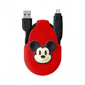 [Bone Collection] iDualink 2-in-1 Dual Head Cable (Type-C)-Mickey