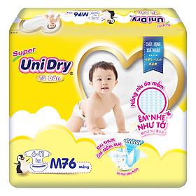 Tã Dán Cho Bé Unidry (G6+) Size M76 (76 miếng)