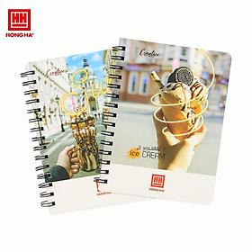 Sổ Lò Xo Hồng Hà 160 Trang A5 Creative 4120