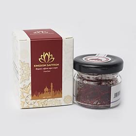 Saffron KingDom Nhụy Hoa Nghệ Tây Iran loại Super Negin thượng hạng (Hộp 1 gram)