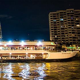 Xe Đưa Đón + Bữa Tối Trên Du Thuyền White Orchid (Từ Bến Tàu River City Pier)