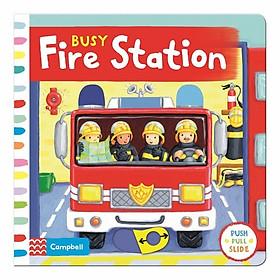 Cambell Fush Full Slide Series: Busy Fire Station