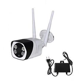 camera wifi yoosee s10 vỏ thép ngoài trời kèm thẻ 64gb - camera yoosee 3.0 mp 1080p chống nước led ban đêm có mầu - hàng nhập khẩu