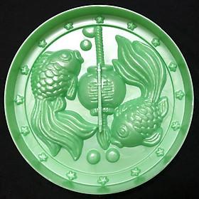 Khuôn xôi – Khuôn trung thu lồng đèn cá chép đôi