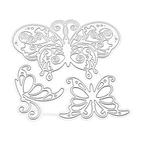 New 2019 Butterfly Die Cut Metal Scrapbooking Die Party Decoration Greeting Card Accessories