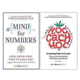 Combo Sách Tư Duy: Học Cách Học + Cách Chinh Phục Toán Và Khoa Học