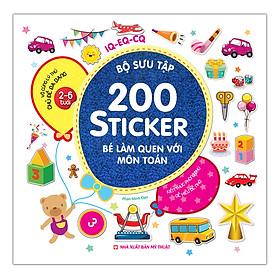 Bộ Sưu Tập 200 sticker - Bé Làm Quen Với Môn Toán