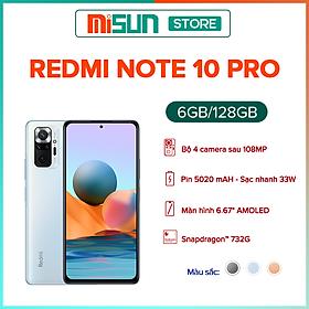 Điện Thoại Xiaomi Redmi Note 10 Pro (6GB/128GB) - Hàng Chính Hãng