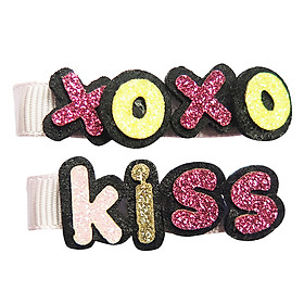 Set Kẹp Chữ Xoxo Kiss CucKeo Kids TK011805