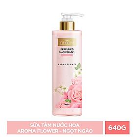 Combo 4 Chai Sữa Tắm Nước Hoa Cindy Bloom Hương Aroma Flower + Fresh Ocean + Urban Vibes + Romantic Muse (640g/chai)