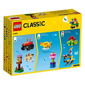 Đồ Chơi Lắp Ghép, Xếp Hình LEGO - Bộ Gạch Classic Cơ Bản 11002