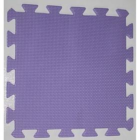 Thảm Chống Trơn Cho Bé Trơn 50cmx50cm màu tím