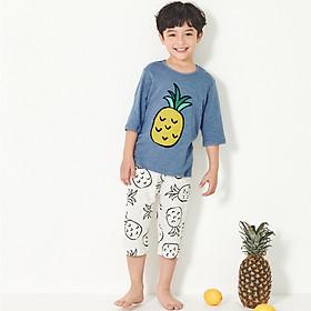 Bộ đồ xuân hè bé trai Unifriend Hàn Quốc UNI0723