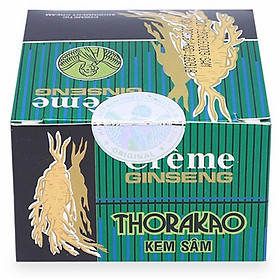 Kem Sâm Dưỡng Trắng Da, Ngừa Mụn Thorakao 7g