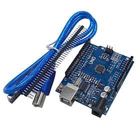 Kit Arduino Uno R3 Chíp CH340G Dán ( Kèm Cáp)