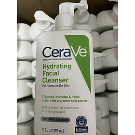 Sữa Rửa Mặt Cerave Hydrating Facial Cleanser dành cho da khô
