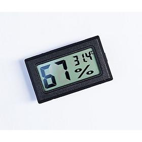 Nhiệt ẩm kế điện tử mini ( Tặng kèm 01 móc khóa tô vít đa năng )