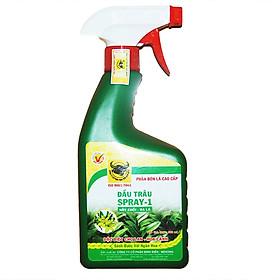 Phân bón pha sẵn cho hoa lan, bonsai, sen đá Đầu Trâu Spray 1 (500ml)