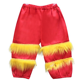 Quần múa lân trung thu trẻ em 3- 5 tuổi - màu đỏ