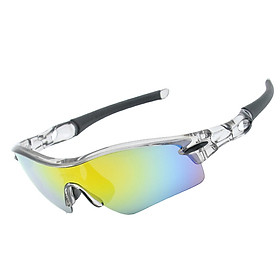 Sports Sunglasses Road Bicycle 5 Lens Glasses Mountain Cycling Riding Protection Goggles Eyewear Mtb Bike Sun Glasses Frame