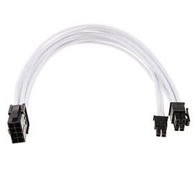 PCIe 8 Pin để PCIe 8 Pin (6 + 2) bo mạch Đồ Họa Video Thẻ PCI-E Adapter GPU Y-Bộ chia Cáp Nối Dài