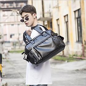 Túi xách đeo vai xách tay 2in1 Leather BlackMan (Đen)