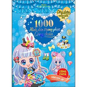 1000 Hình Dán Trang Phục Công Chúa - Công Chúa Hoa Tuy Líp (Tái Bản)