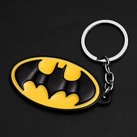 Móc khóa siêu anh hùng - huy hiệu Batman