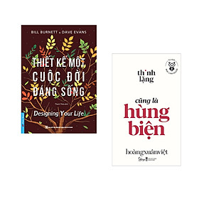 Combo 2 cuốn sách: Thiết Kế Một Cuộc Đời Đáng Sống + Học làm người - Thinh lặng cũng là hùng biện