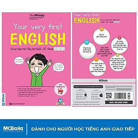 Sách - Your Very First English - Tự Học Nghe Nói Tiếng Anh Chuẩn Dễ Nhanh Volume 2 - Học Kèm App Online