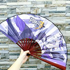Quạt xếp cầm tay in hình Honkai Impact game anime chibi xinh xắn (MẪU GIAO NGẪU NHIÊN)