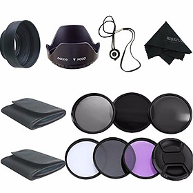 58MM Filter Kit UV CPL Polarizer ND2 4 8 For Canon EOS 1200D 750D 700D 600D LENS