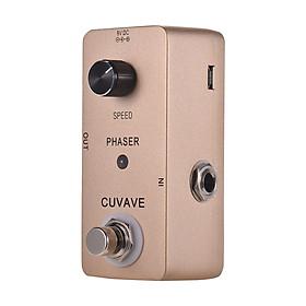 Phơ Cục Dynamic Mạch True Bypass Cho Đàn Guitar CUVAVE PHASER