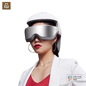 Xiaomi Youpin MOMODA Mũ bảo hiểm mát xa thông minh Đầu mắt Cổ 3 trong 1 Cơ 4 chế độ Điều khiển ứng dụng