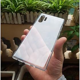 Ốp cho Samsung Galaxy Note 10 Plus - Silicon trong suốt hãng GOR Hàng nhập khẩu