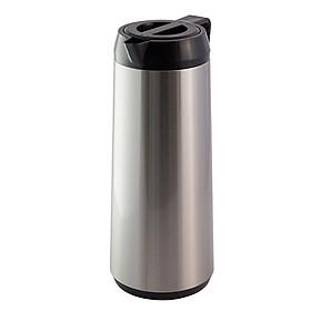 Phích pha trà giữ nhiệt 1 lít cao cấp Rạng Đông, thân inox, vai nhựa, Model: RD1040ST2.E - Chính Hãng