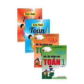 Combo Sách Tham Khảo Môn Toán Lớp 1 Theo Chương Trình Tiểu Học Mới Định Hướng Phát Triển Năng Lực (4 Cuốn)
