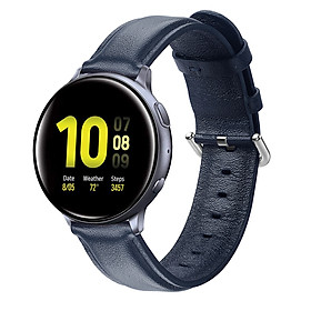 Leather Watch Strap for Sumsung Galaxy Watch Active/Active 2