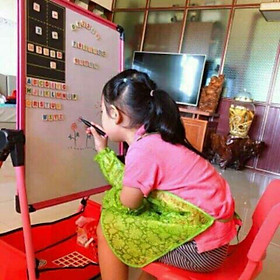 Bảng vẽ 2 mặt một mặt bảng từ một mặt trắng cho bé