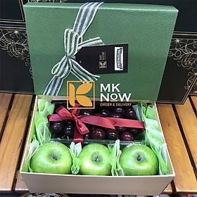 [Chỉ Giao HCM] - Hộp trái cây cherry 8.3 - MKnow10