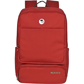 """Balo Mikkor The Royce Backpack M 00002324 (15.6"""") - Đỏ"""