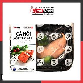 Cá Hồi Xốt Teriyaki 200g - Giàu Protein Giúp Tăng Cơ & Giảm Mỡ