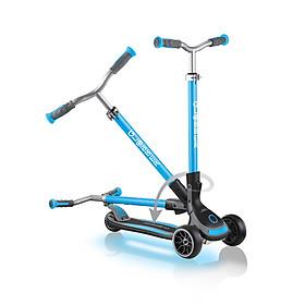 Xe trượt scooter 3 bánh GLOBBER ULTIMUM LIGHTS cho trẻ em từ 5 tuổi - Xanh da trời