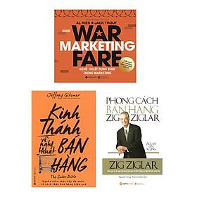 Combo Sách Marketing - Bán Hàng : Nghệ Thuật Dụng Binh Trong Marketing + Phong Cách Bán Hàng ZigZigLar + Kinh Thánh Về Nghệ Thuật Bán Hàng