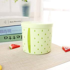Plastic Tissue Box Round Side Draw Tissue Box Tissue Holder Round Napkin Paper Case