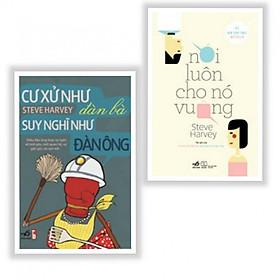 Combo 2 Cuốn: Nói Luôn Cho Nó Vuông + Cư Xử Như Đàn Bà, Suy Nghĩ Như Đàn Ông (Tái bản 2019) - Tặng kèm bookmark