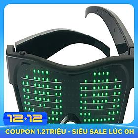 Mắt Kính Đèn LED Phát Sáng Sạc USB