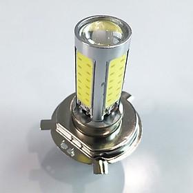 Đèn led siêu sáng, đèn pha led cho xe máy, đèn pha xe máy có 4 mặt led, đèn pha bi 4 mặt cho xe máy-D4MB